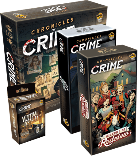Chronicles of Crime - MAXI PACK !