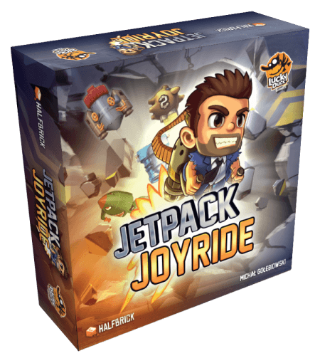 Jetpack Joyride: Retail Edition - Box