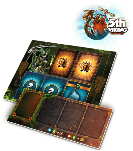 Vikings Gone Wild: Neoprene Mats - 5th Player
