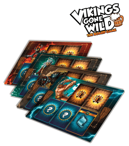 Vikings Gone Wild: Neoprene Player Mats Upgrade