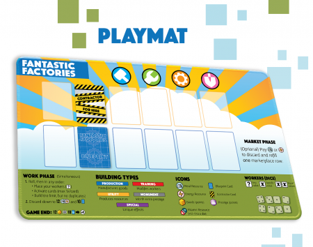 Fantastic Factories - Playmat