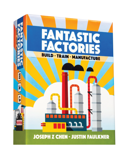 Précommande - Fantastic Factories en version française - Box